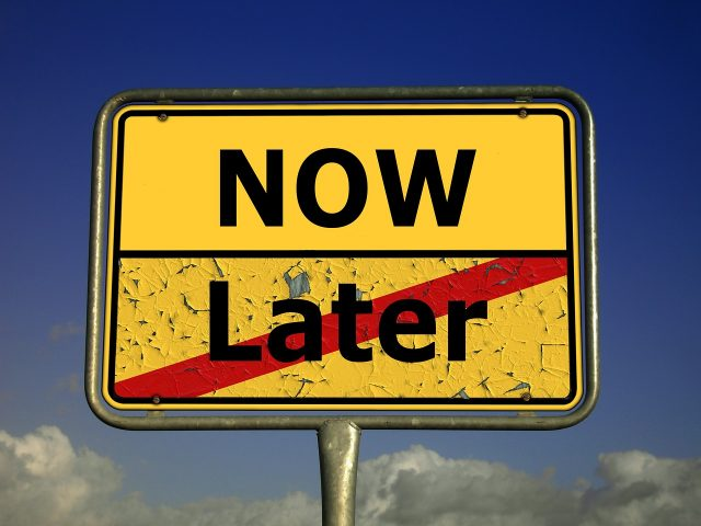 Prokrastination – das mache ich später Syndrom